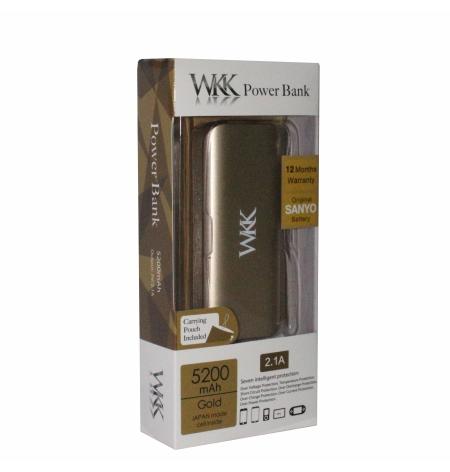 WKK Powerbank W055 5200mAh
